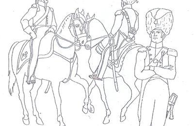 Les Chasseurs à cheval ( szeregowi pulkow strzelcow konnych)