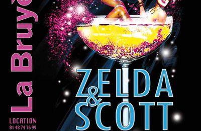 Le Théâtre de la Bruyère présente Zelda et Scott jusqu'au 4 janvier 2013