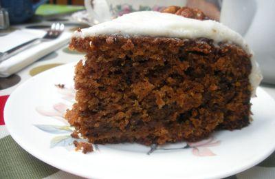 Le carrot cake et son glaçage