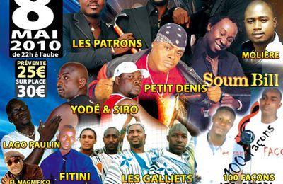 Paris le 08 Mai: La Nuit des Stars du Zouglou