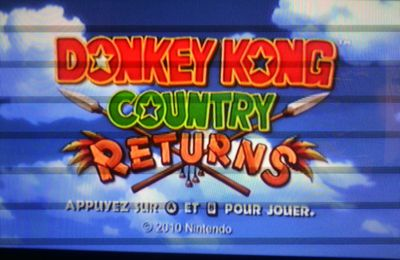 DONKEY KONG COUNTRY RETURNS 100.. euh.. 200%