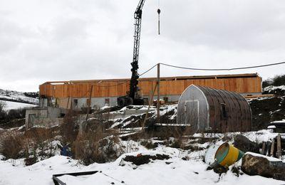 Avancement des travaux du 3ème bâtiment (12.12.2010)