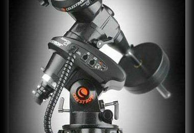 Monture astronomique Célestron CG5 Advanced Series Go To : mise en place du nouveau firmware des moteurs.