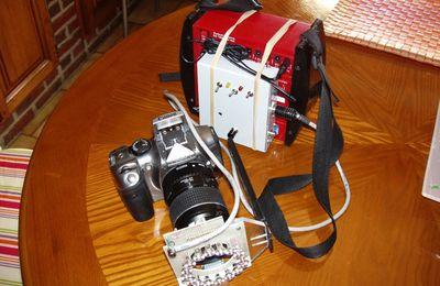 Premiers essais du flash à leds avec l'EOS 300D