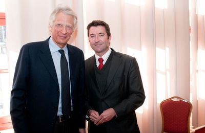 Karl Olive interpelle Dominique de Villepin sur l'apprentissage