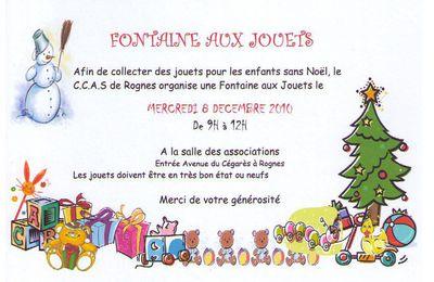 Fontaine aux Jouets 2010