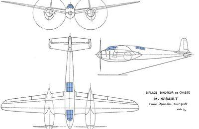 55 - Projet Wibault de chasseur C 2 de 1938