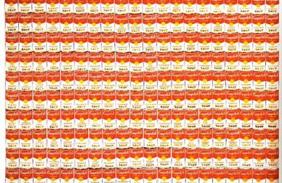 Campbell Soup @ Andy Warhol. 1962