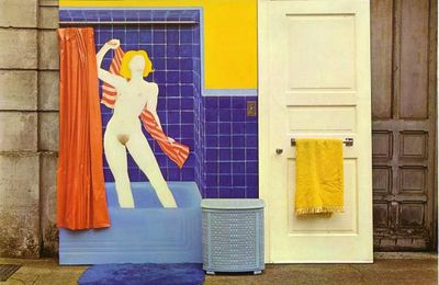Bath Tube Collage 3 @ Tom Wesselmann. 1963