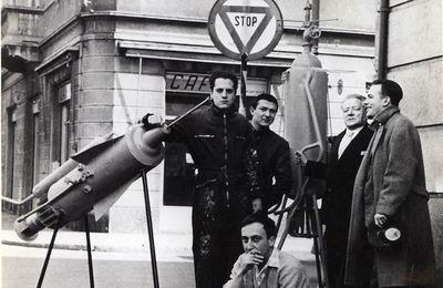 Movimento Nucleare 1959 Arte interplanetaria Paolazzi Leo Verga Angelo Farfa, Balestrini Nanni Baj Enrico, Milano