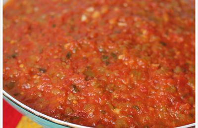 'Choukchouka' [Confit de poivrons et de tomates au paprika]