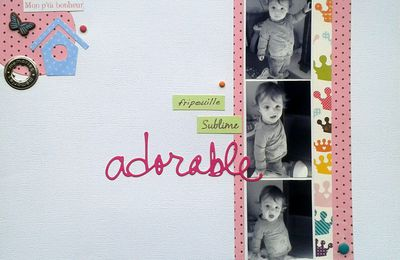"""Page """"Adorable"""""""