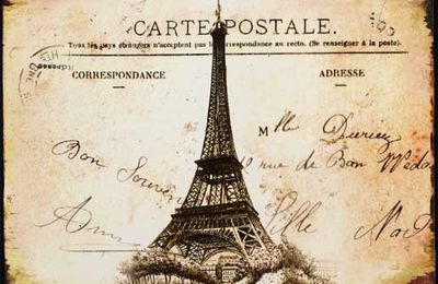 Une carte postale de Paris....