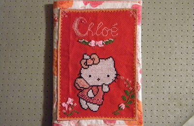 protège carnet hello kitty