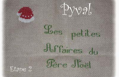 """SAL """"Les Petites Affaires du ¨Père Noël"""" Etape 2"""