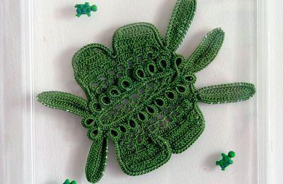 Dentelle d'Irlande, la tortue verte.