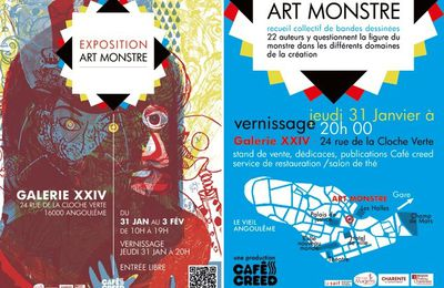Expo Art monstre