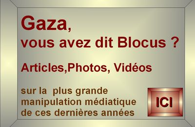 Gaza: silence on développe...Soudan: silence, on massacre...