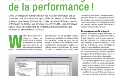 Windows Server 2008 R2 (Les outils de tuning de la perf.)
