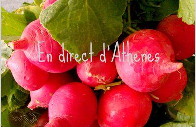 RETOUR DU MARCHE : Les radis et leurs fanes