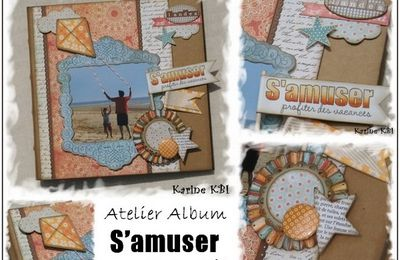 "Visuel de l'album ""S'amuser"" ..."