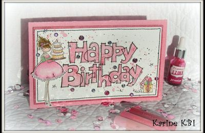 Carte Happy Birthday ...