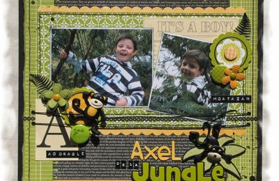 "Page ""Axel de la Jungle"" ..."