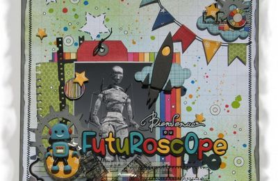 "Page et mini-album ""Futuroscope"" ..."