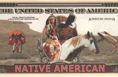 Chief native american (not legal tender)