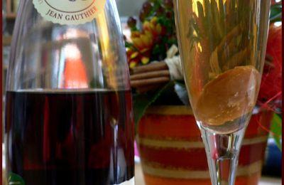 Kir à la liqueur de châtaigne
