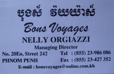 Bons Voyages à PHNOM PENH