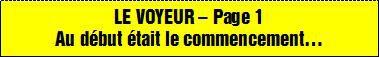 LE VOYEUR - Page 25 - Pascal DINOT