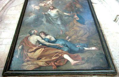 Eglise Saint-Sauveur (Petit-Andely), la Transfiguration (XVIIe siècle)