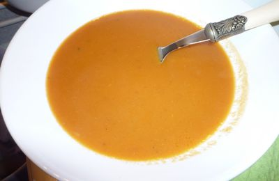 Potage : 3 P ...Potirron ... Poivron .... Piment ... hot hot