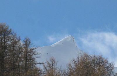 il skie, je tricote !!!!!