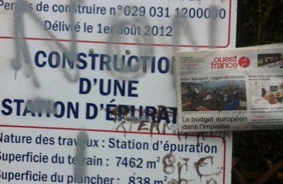 Station d'épuration : permis de construire (3eme)