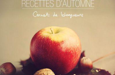 Carnet de Blogueurs - RECETTES D'AUTOMNE - e book