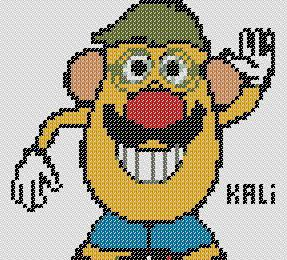 Grille ' Mr Patate'