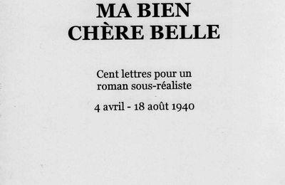 Ma bien chère belle, lettres Renaud Jean