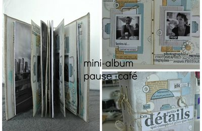 Fiche technique mini-album pause café