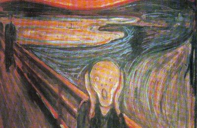 """Le Cri"" Edward Munch (1893)"