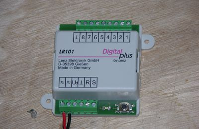 Encodage/Programmation des LR 101 Lenz