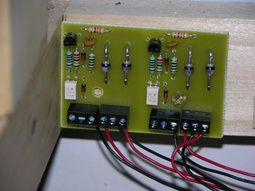Câblage des détecteurs d'occupation.