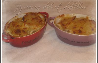 Gratin Dauphinois au bacon