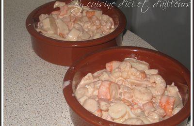Salade cocktail aux crevettes