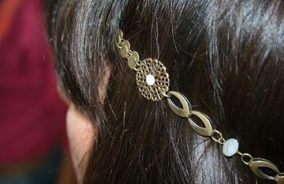 """""""Headband princesse"""" de céline Z"""