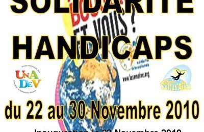 Exposition Handicap et Solidarité