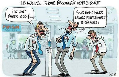 Nouvel iphone6 ™- biométrie : AH LES CONS !