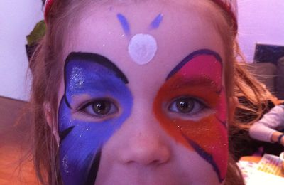 Maquillage enfants : maquillage papillons