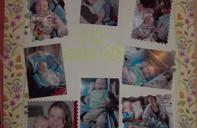 Pages de scrapbookin